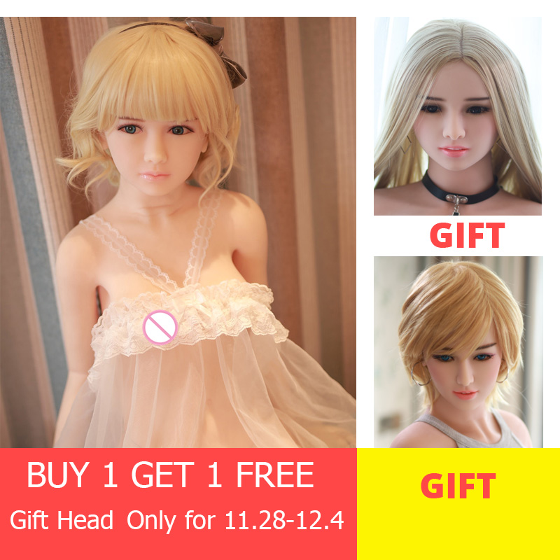 130cm Woman Silicone Sex Doll Small Breasts For Male Life Sized JY Mannequin Rubber Oral Head Men