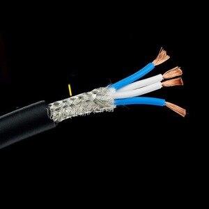 Image 5 - Cable de interconexión USB de audio hifi de cobre puro de alta gama A53 OCC con conector con enchufe USB chapado en oro
