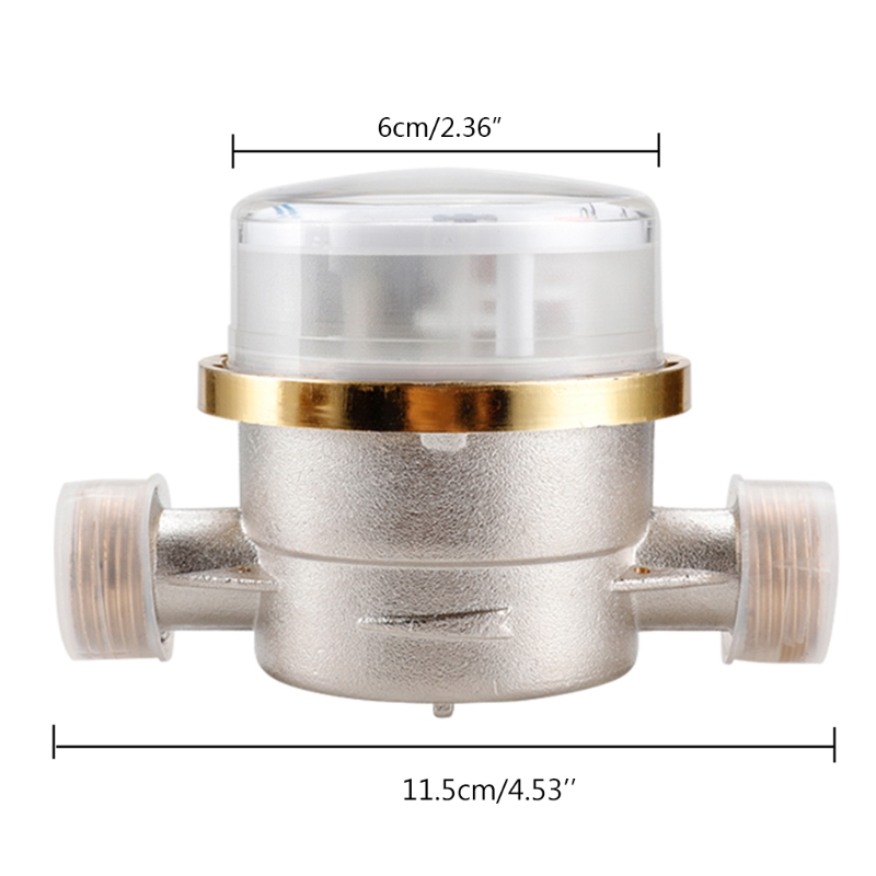 Water Meter Mechanical Rotary Wing 0-40℃ Cold  E-TYPE 1/2