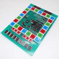 Бесплатная доставка 2 шт фруктовые игры Марио PCB слот для казино игровая доска акриловая панель с проводами кабели для аркадной игровой маши...