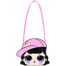 LOL Surprise Dolls New Cotton Small Backpack Girl Cartoon Action Figures Anime Children's Women Coin Purse Gifts