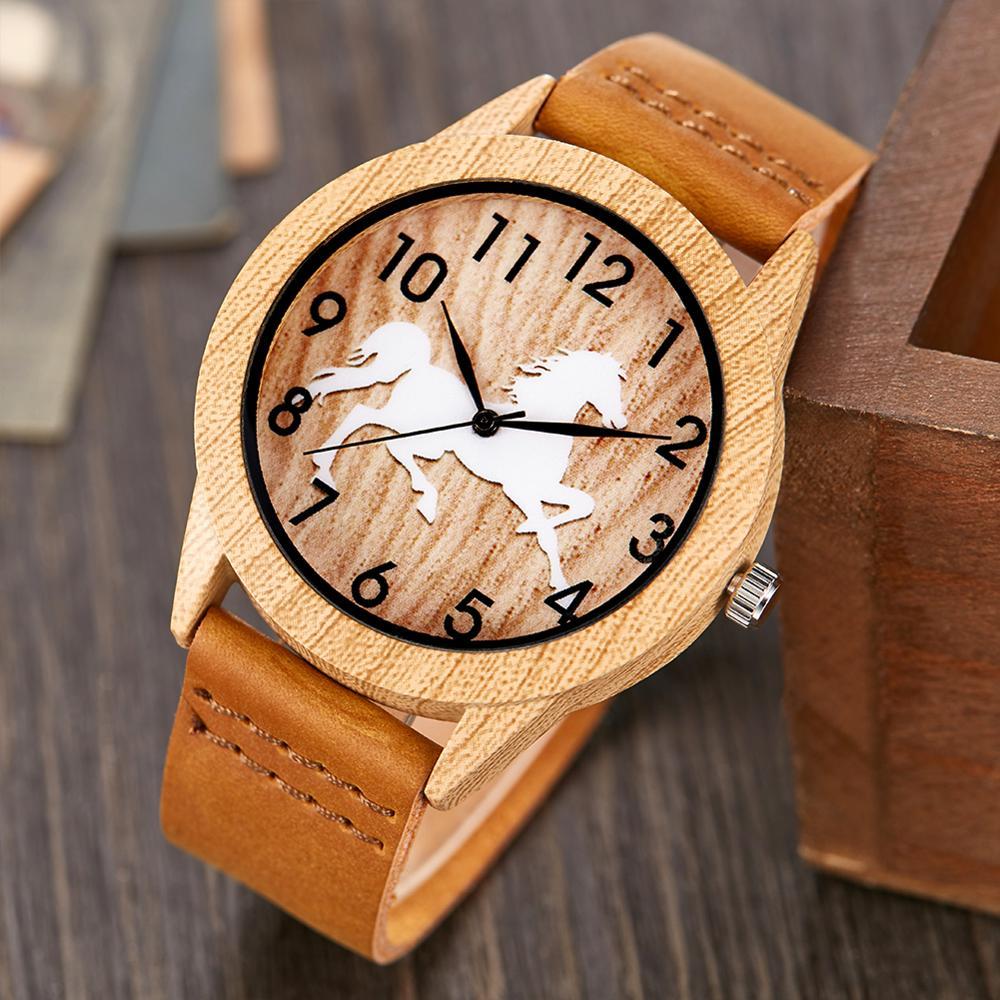Creative Life Tree Imitation Wood Watch Men Women Quartz Imitate Wooden Watch Soft Leather Band Wristwatch Male Reloj montre uhr