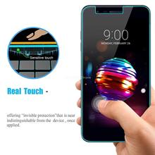 купить Tempered HD Glass Screen Protector  For LG K10 2017 2018 2019 K20V K30 K40 K12 Plus 9H Explosion Proof Screen Protector Film дешево