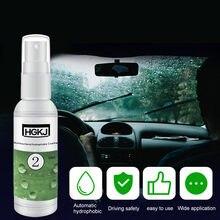 HGKJ-2 araba cam yağmur geçirmez ajan Nano oto camı hidrofobik kaplama çarpma sensörü temizleme araba araçları parlatıcılar elektrikli araba