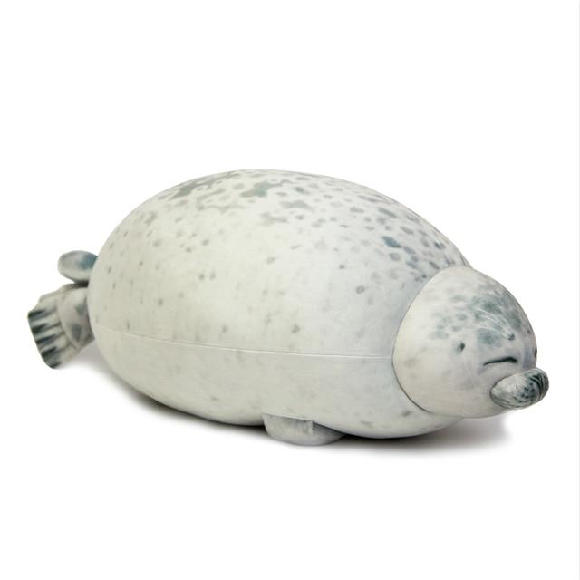 Yuki Chan Fluffy Seal Pillow 1