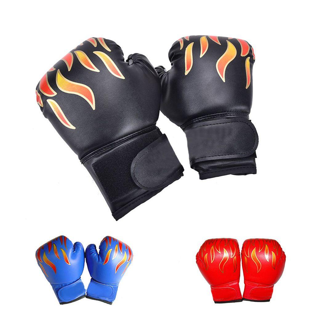 Kids Children Kickboxing Training Gloves Punching Sandbag Sports Fighting MMA Boxing Glove