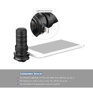 Image 3 - BOYA BY DM200 цифровой стерео кардиоидный конденсаторный микрофон, превосходный звук для iPhone, iPad, iPod, записи сенсорных устройств