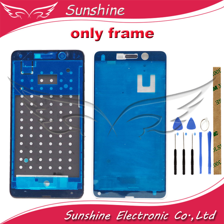 New Good Quality Front Housing Middle Frame For <font><b>Huawei</b></font> <font><b>GR5</b></font> <font><b>2017</b></font> / Honor 6X No LCD Display Panel Faceplace Repair parts image
