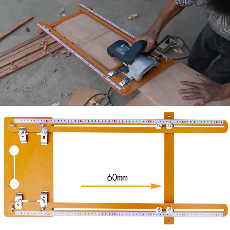 For 4inch Electricity Circular Saw Edge Guide Positioning Cutting Board Tool Marble Machine Cutting Woodworking Tools