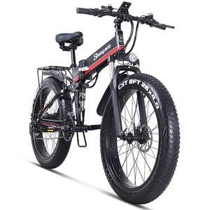 Image 1 - חשמלי אופני 1000W ebike 2019 חדש חשמלי אופני הרי olding חשמלי אופני אופני eletrica חשמלית אופני 48v