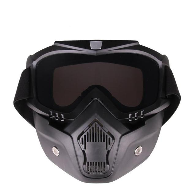 HiMISS Practical Motorcycle Tactical Glasses Mask Wind Dust Proof Outdoor Sports Equipment 2