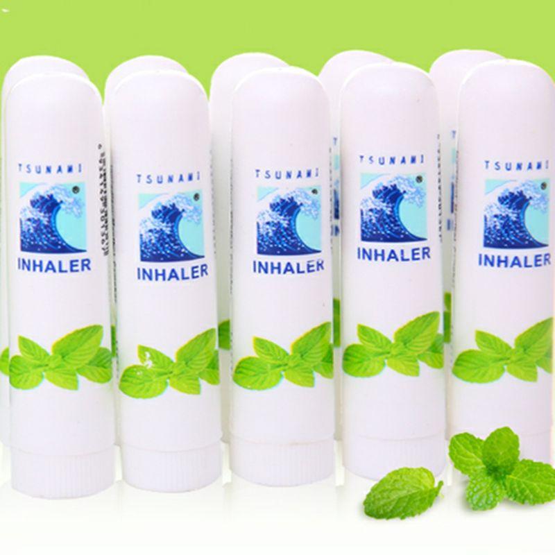 1/за штуку Бесплатная доставка частично ориентированная нить азиатских Mark 2 II носовые запах головокружения ингалятор Brancing свежий астмы
