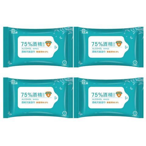 4 sacos 40 pcs alcool toalhetes molhados algodao alcoolico lavagem livre esterilizacao toalhetes molhados para