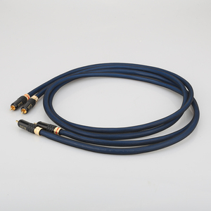 Image 2 - Audiocrast A10 Pair Rca Cable Top Graded Silver Plated RCA Male to Male Cable With WBT0144 RCA Plug Cable