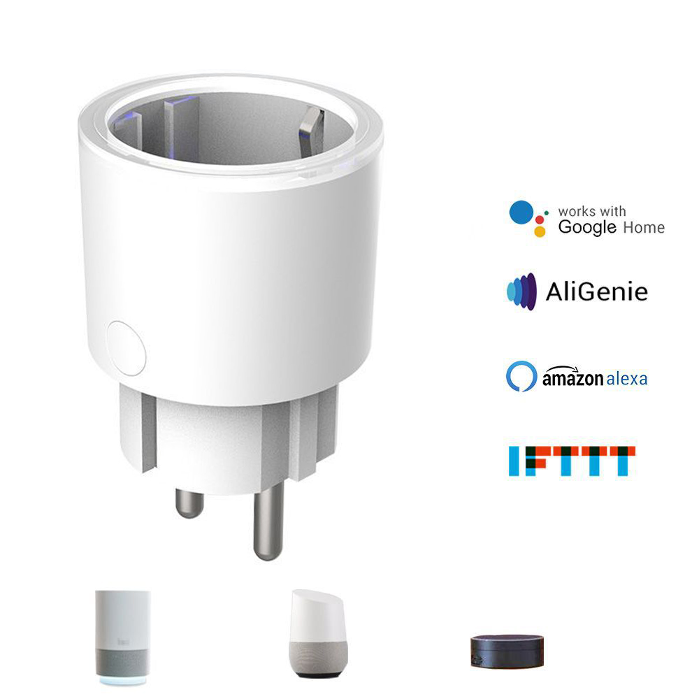 WIFI Smart Plug Wifi Smart Socket Tuya Smart Life App EU Plug Intelligent Plug Alexa Google Home Mini IFTTT