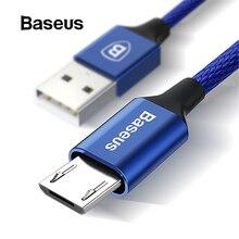 Кабель Micro USB Baseus для Xiaomi Redmi Note 5 Pro 4X4, кабель зарядного устройства для samsung huawei, usb-кабель для зарядки и передачи данных