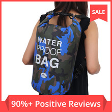 Dry Backpack Dry-Bag Swimming-Bags Rafting River-Trekking Diving Waterproof Camouflage