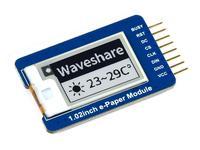 وحدة ورق إلكترونية 1.02 بوصة ، 128 × 80 ، واجهة SPI ، وحدة تحكم مدمجة ، تدعم التحديث الجزئي ، استهلاك طاقة منخفض للغاية ،