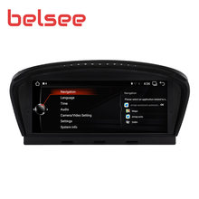 Belsee 8.8 Inch Android 9.0 Car Radio for BMW 5 Series M5 E60 E61 E62 E63 E64 Stereo Head Unit GPS Navigation Autoradio Player(China)