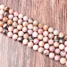 Hot Sale Natural Stone Rose Stone  Beads 15.5 Pick Size: 4 6 8 10 mm fit Diy Charms Beads Jewelry Making Accessories