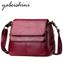 New lady Messenger bags for women bag over shoulder bags high quality flap leather handbags sac main femme women crossbody bag