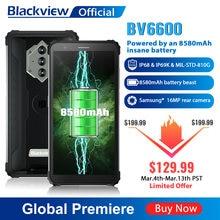 Blackview BV6600 IP68 Waterdichte 8580Mah Robuuste Smartphone Octa Core 4Gb + 64Gb 5.7