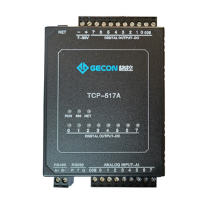 8-channel analog 4-20mA input to Ethernet acquisition module Modbus TCP 8-channel transistor output(China)