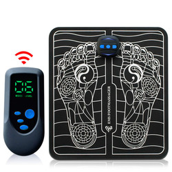 Electric  EMS  Intelligent  Foot Massage Pulse Acupuncture USB Charging Improve Blood Circulation Relieve Ache Pain Health Care