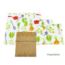 Reusable Beeswax Cotton Wraps