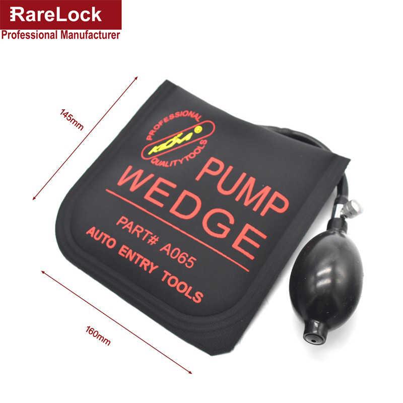 Rarelock klom bomba cunha serralheiro ferramentas auto entrar airbag cunha bloqueio pick conjunto aberto fechadura da porta do carro MMS326-2 aa