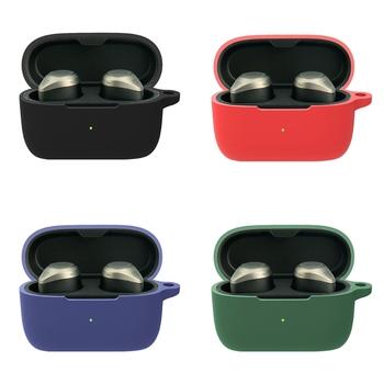 Zmywalny silikonowe etui ochronne powłoka Anti-jesień etui na słuchawki dla Jabra Elite 85t oryginalne słuchawki bezprzewodowe Bluetooth słuchawki douszne akcesoria tanie i dobre opinie NoEnName_Null CN (pochodzenie) Przypadki Other