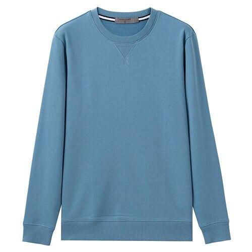 Giordano Men Sweatshirt Solid Pullover Sweatshirt Men Long Sleeve Fashion Terry Mens Clothes Sudadera Hombre Moleton Masculino 9