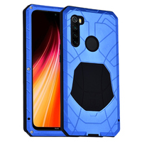 Imatch Original For Xiaomi Redmi Note 8 Pro Phone Case Hard Aluminum Metal Protector Full Cover Armor Heavy Duty Shockproof