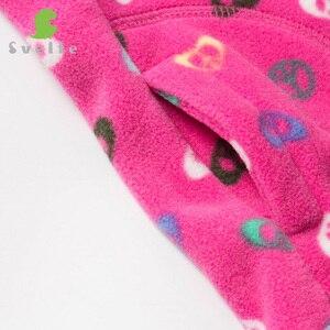 Image 4 - SVELTE Gilet en molleton pour filles, Gilet imprimé en laine pour garçons, Gilet Enfant, automne hiver