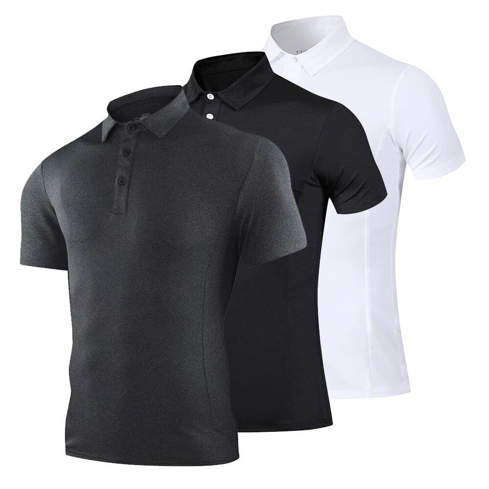 Golf Wear High Quality Business Golf Shirt Men's T-shirt Sportswear Top Golf Shirt Feather Jersey Fitness Wear