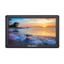 FEELWORLD FW568 Portable Camera Field Monitor 5.5 Inch IPS Full HD Display Screen 1920x1080 IPS Video Focus Assist for DSLR Gimb