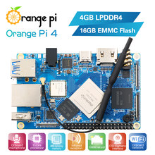 Orange Pi 4GB DDR4 + 16GB EMMC Flash Rockchip RK3399 Dual-core + Quad-core Cortex Placa de desarrollo compatible con Android,ubuntu, piña(China)