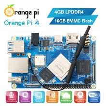 Örnek testi turuncu PI4 4G16G tek kart, indirimli fiyat sadece 1 adet her sipariş