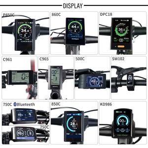 Image 4 - 48V 750W Bafang BBS02B Metà Auto Motore ebike Bici Elettrica Kit di Conversione con 12Ah 17.5Ah 52V 14Ah bicicletta Batteria Cellulare Samsung