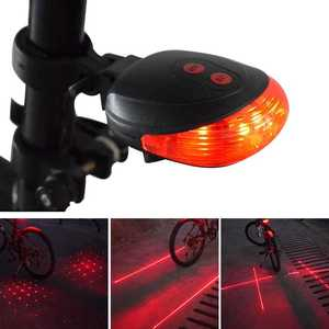 WasaFire Bike Tail Light 5 LED
