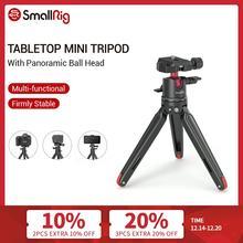 Smallrig Universele Tafelblad Mini Statief Met Panoramisch Balhoofd Voor Compacte Dslr S/Mirrorless Camera S/Smartphones Statief 2664