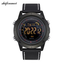 Man Sport Watch Cheep Bluetooth Android/IOS Phones Waterproof GPS Touch Screen Sport Health shifenmei S3129 Smart Men Watches(China)
