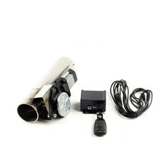 Wholesale universal 2.0 inch straight exhaust cutout stainless steel electric exhaust cut out with remote control 2 02 252 53 0 exhaust system b cut pipe exhaust cutout with remote control electric cut out with remote control