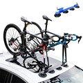 Новый велосипед всасывающая стойка на крышу велосипед Автомобильная стойка несущая Вакуумная присоска быстрая установка багажник для MTB Г...