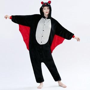 Image 4 - 여성 유니콘 코스프레 키 구루 미 Onesie 성인 동물 잠옷 Onesies 플란넬 따뜻한 부드러운 잠옷 Onepiece Anime Winter Jumpsuit
