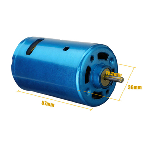 Image 3 - 1PC RS 550 Motor DC 6V 24V 30000RPM High Speed Low Noise Large Torque Motor Various Cordless Screwdriver Electric Micro