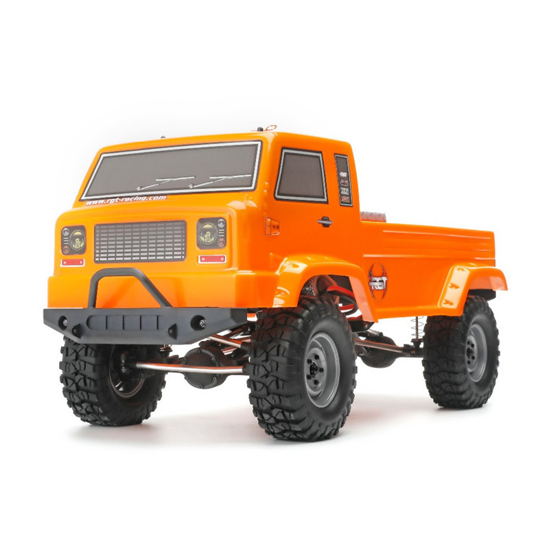 RGT 137300 <font><b>RC</b></font> <font><b>Car</b></font> <font><b>1/10</b></font> 2.4G 4WD 3CH Electric Off-Road <font><b>RC</b></font> Control Truck Crawler Vehicles RTR Model Toys <font><b>Cars</b></font> with LED Light image