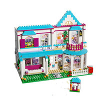 622pcs Stephanie\\'s House Building Blocks Bricks Compatible Friends 41314 Toys for Children Christmas With Lepininglys fun children s building blocks toy compatible with legoes large aircraft carrier assembly model children s building blocks toys