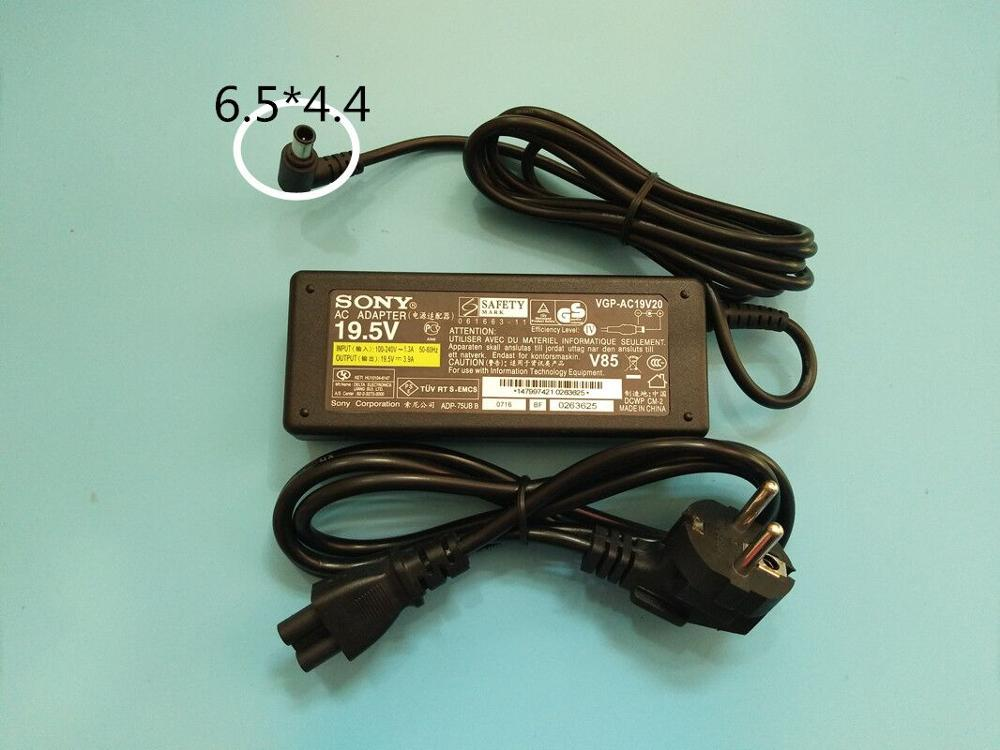 NEW Original 19.5V 3.9A AC Power Adapter FOR SONY VAIO VGP-AC19V37 VGP-AC19V38 VPCW VPC-W