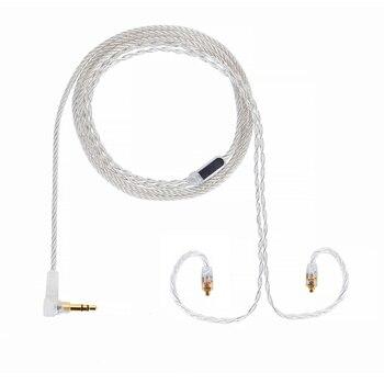 ALO Super Litz 4 Core Audio HIFI Cable Solaris Earphone 3.5/2.5/4.4 MM Plug Jack MMCX Headset Headphone Balanced Cables